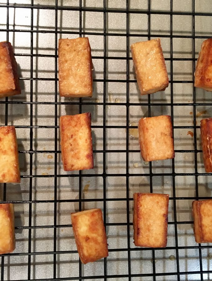 how to make crispy tofu
