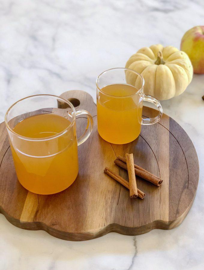 Easy Homemade Mulled Apple Cider