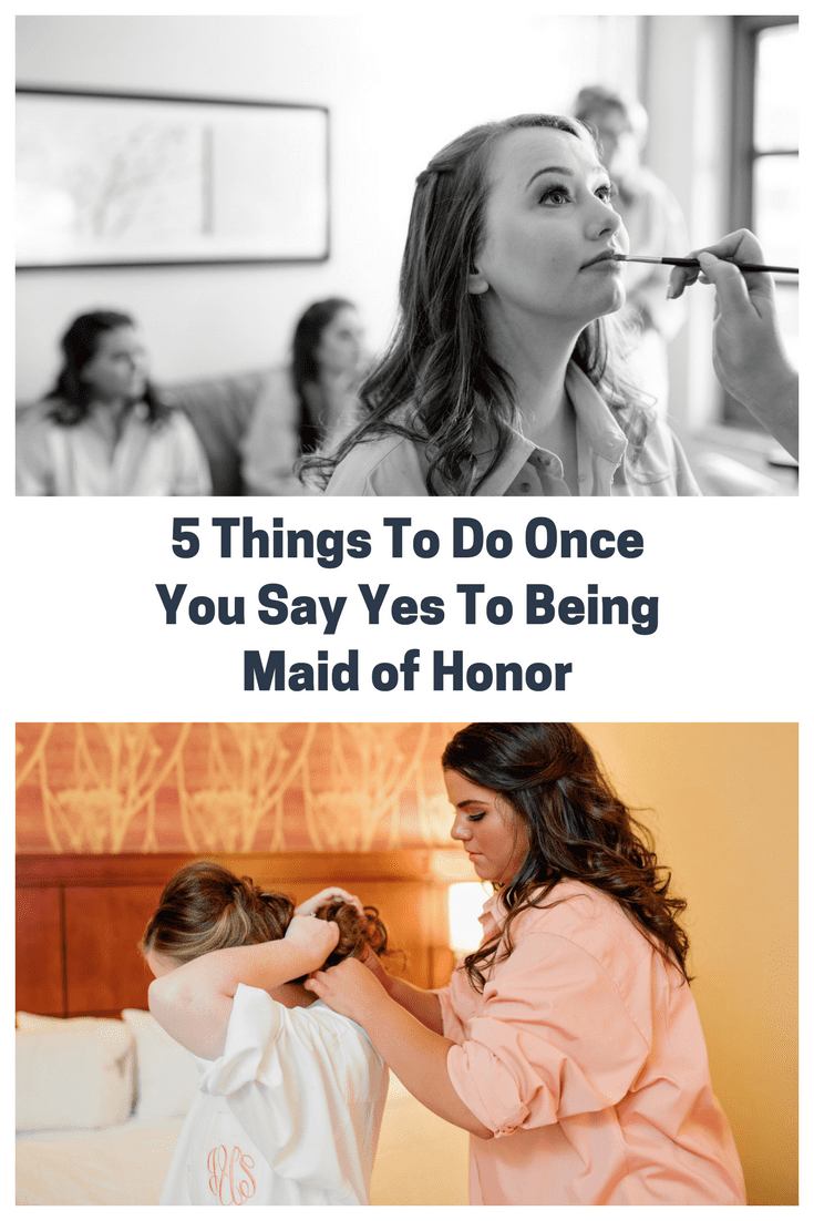 Being yes to ways to cute a bridesmaid say How to