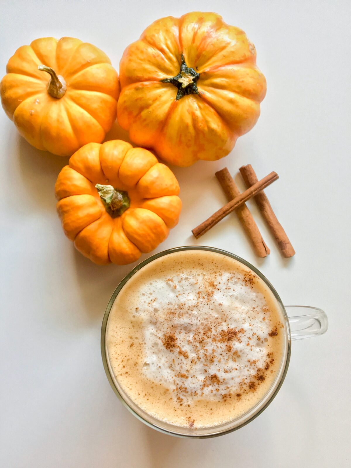 Vegan Pumpkin E Latte