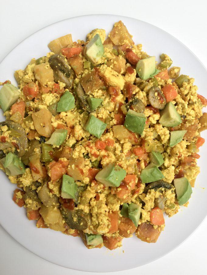Loaded Veggie Breakfast Hash