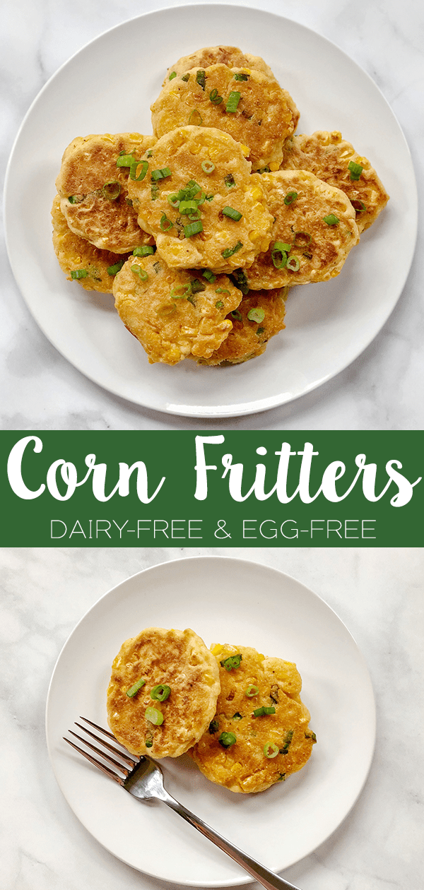 Dairy-Free & Egg-Free Corn Frittersare crisp, light, and fluffy! They are quick and easy to make, earning the top pick for a tasty appetizer or side dish.
