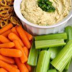 Spicy Vegan Roasted Jalapeno Hummus Recipe