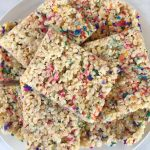 Dairy Free Funfetti Rice Krispies Recipe
