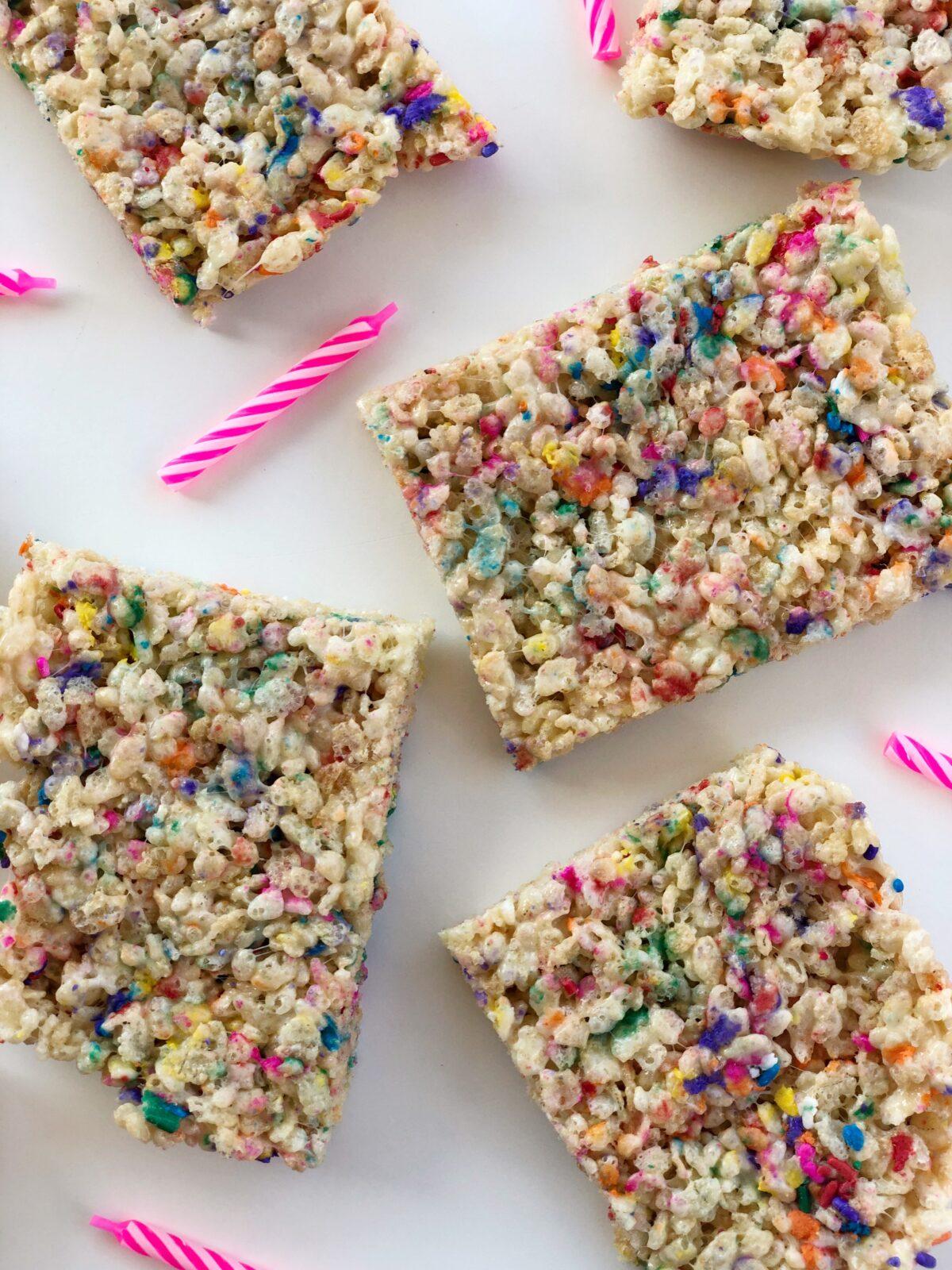 Funfetti Rice Krispies Treats Recipe