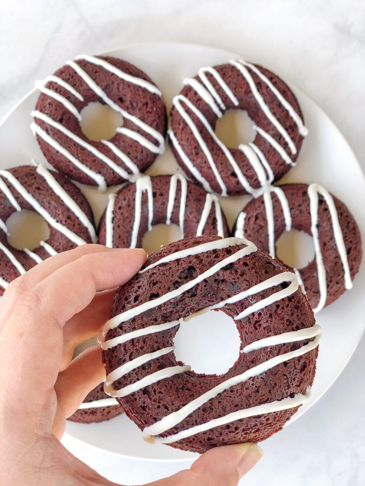 Baked Red Velvet Donuts Recipe