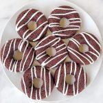 Vegan Baked Red Velvet Donuts