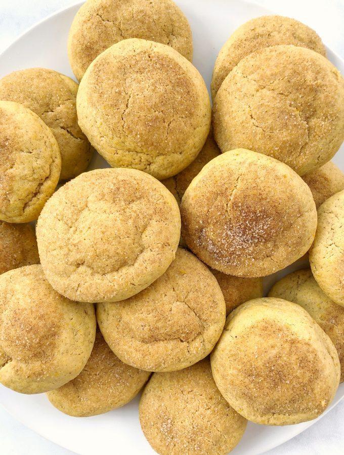 Vegan Pumpkin Spice Sugar Cookies Dairy Free Egg Free Recipe