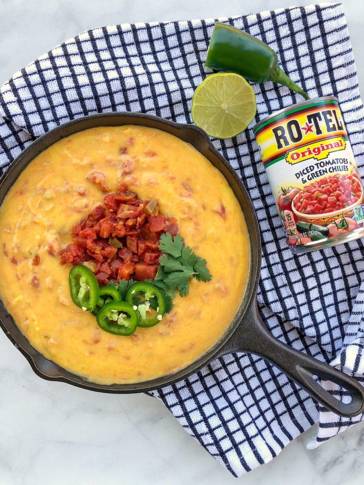 Dairy Free Chile con Queso Recipe ROTEL