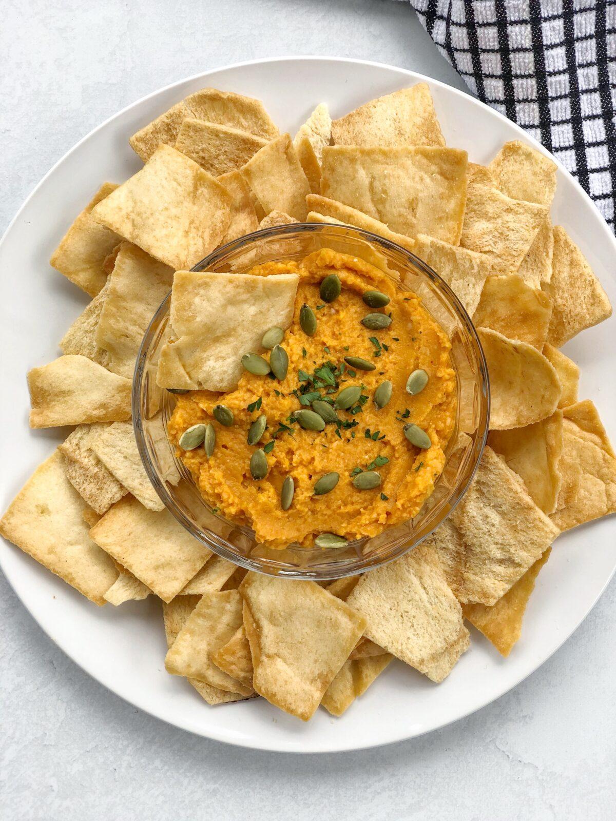 Pumpkin Hummus Dip Recipe