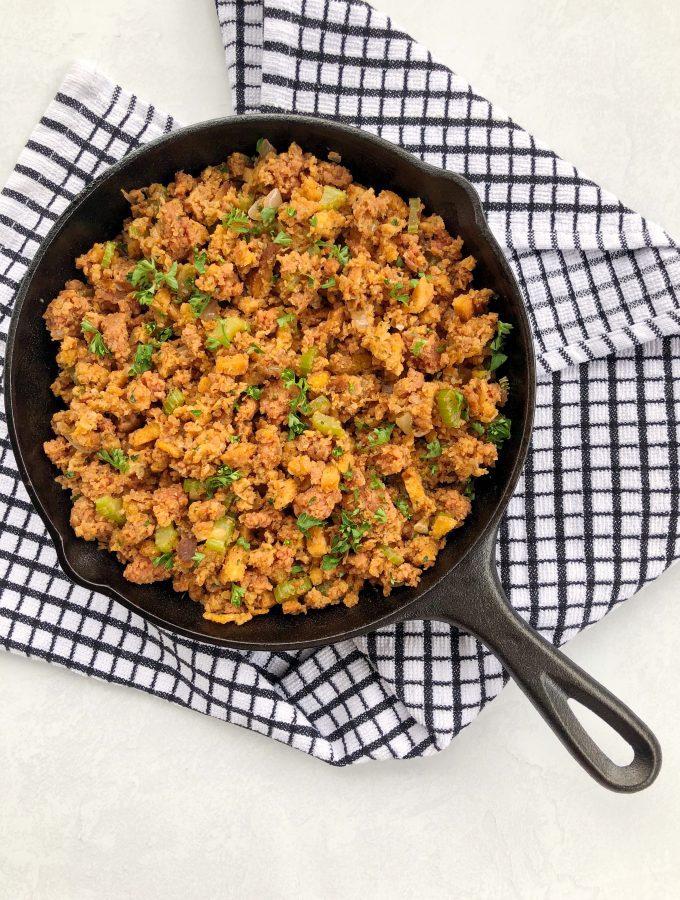 Vegan Sausage Stuffing Recipe