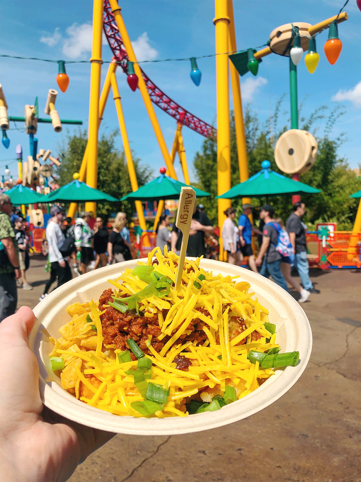 Andys Lunchbox Allergy Friendly Totchos Hollywood Studios Toy Story Land