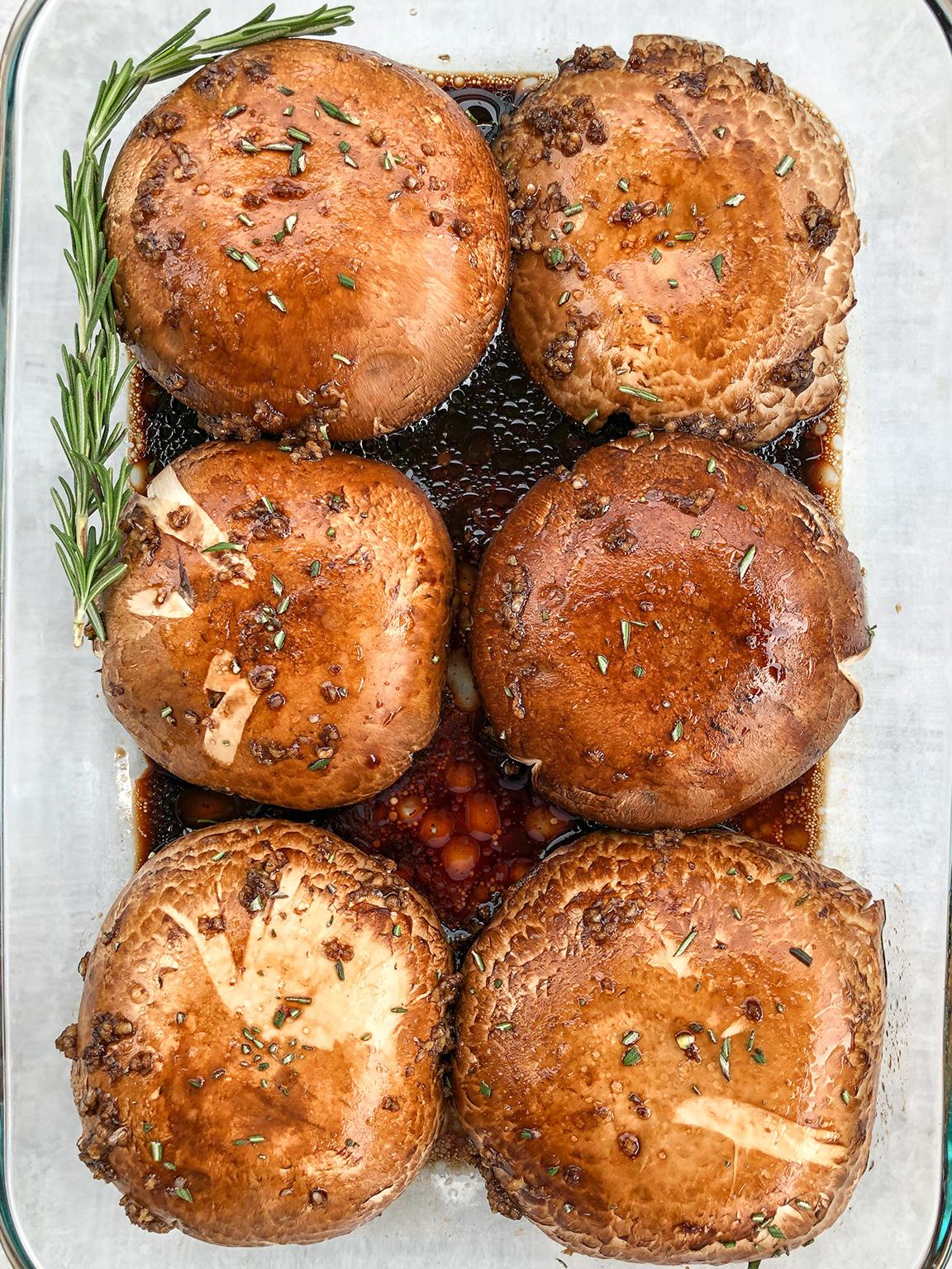 Marinated Portobello Mushroom Steaks
