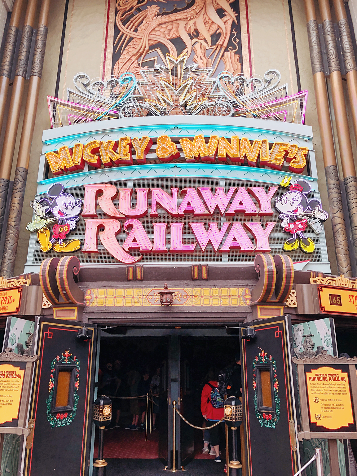 Runaway Railway at Walt Disney World Hollywood Studios Opening Day 2020