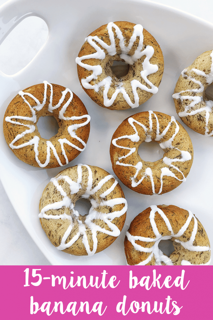 Baked Banana Bread Donuts are dairy-free, egg-free, and vegan-friendly. No milk, no butter, no problem! They're soft and fluffy, with the same flavor we all know and love.