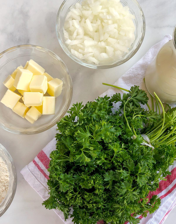 homemade potato soup roux recipe
